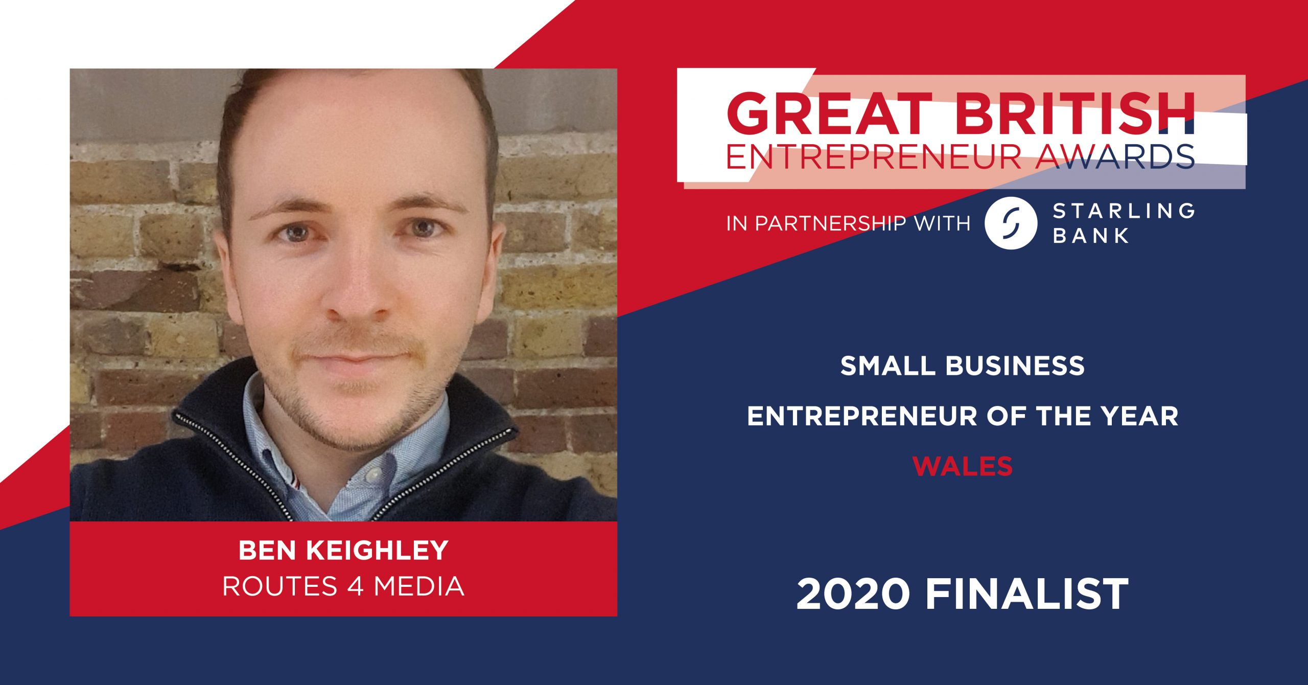 Cardiff-Based Entrepreneur Ben Keighley Shortlisted As 'Great British Entrepreneur Awards 2020' Finalist