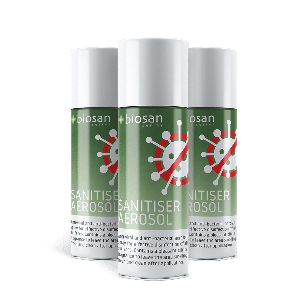 British-made residue-free aerosol effective against Covid-19