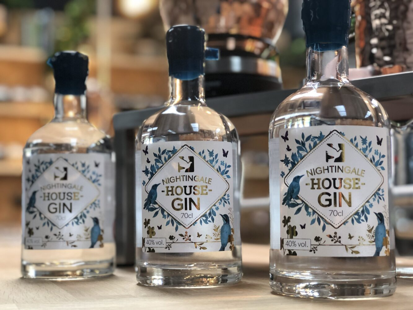 Hospice launches its own anniversary gin