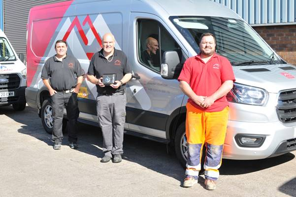Three cheers at Port Talbot door company