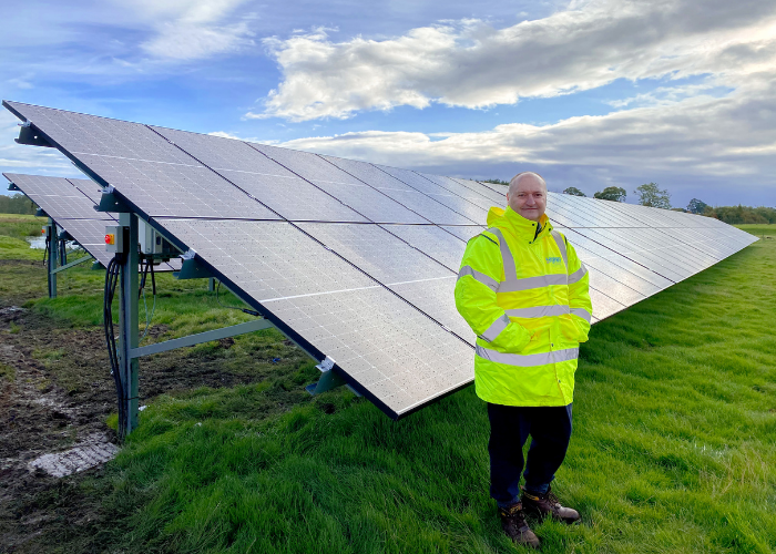 Vaccine rollout and Brexit certainty mean business is booming for some renewables firms