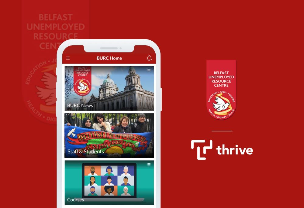 Belfast Unemployment Resource Centre Provides Additional Support for Learners Whilst Streamlining Volunteer Training Processes Through a Partnership with Thrive.App