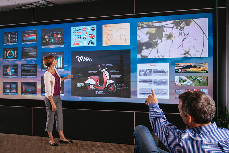 DV Signage teams up with Scale Space to launch Interaction.Works – a high-end collaboration workspace in response to Hybrid Working revolution