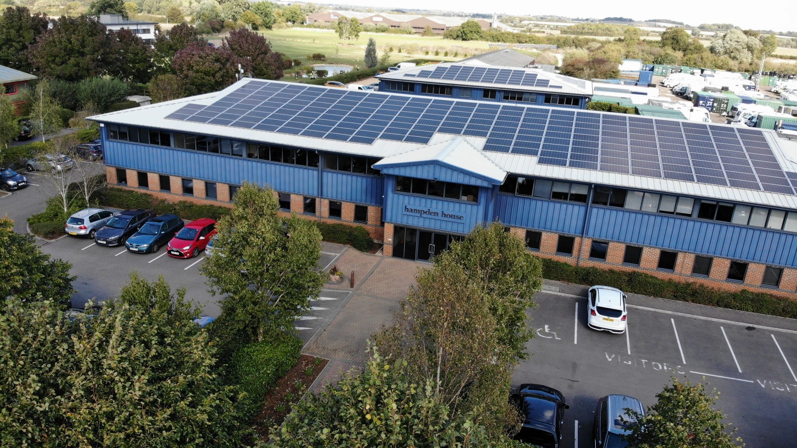 New 'Hot Officing' Service Launches at Monument Park, Oxfordshire