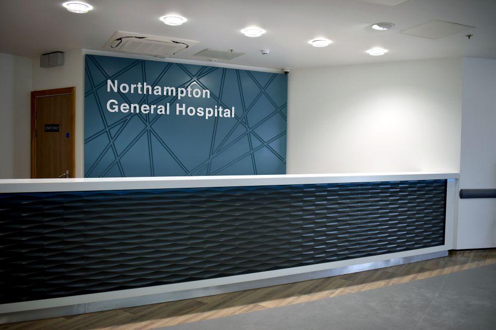 New entrance opens at Northampton General Hospital