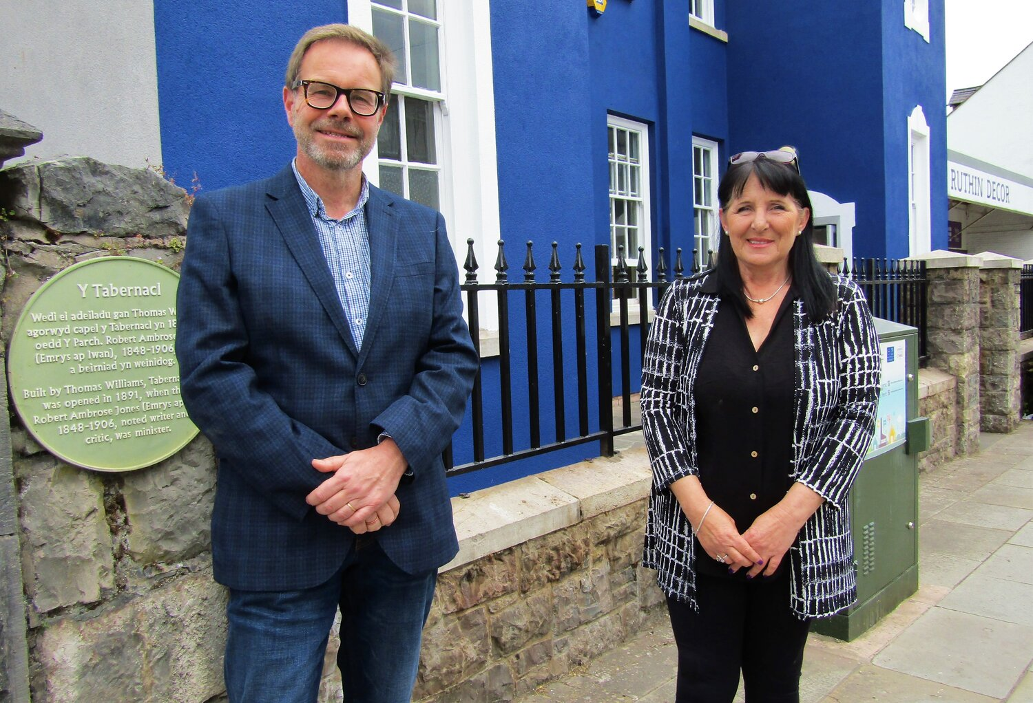 New vision for community charity as £50,000 revamp to Ruthin landmark unveiled