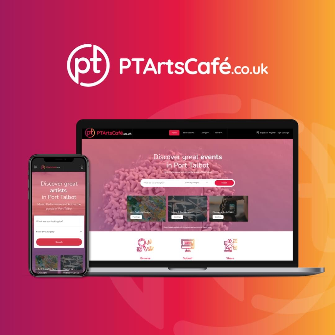 Aspire 2Be helps launch PT Arts Café in Port Talbot