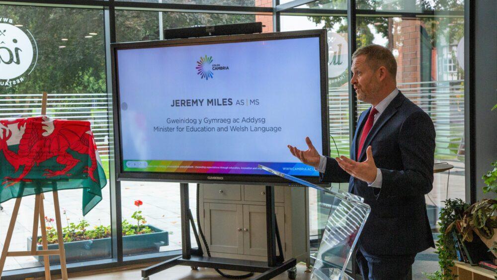 Coleg Cambria and Bangor University unveil new partnership at £21m building launch