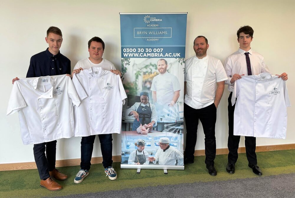 Chef calls for hospitality sector support as college Academy students unveiled